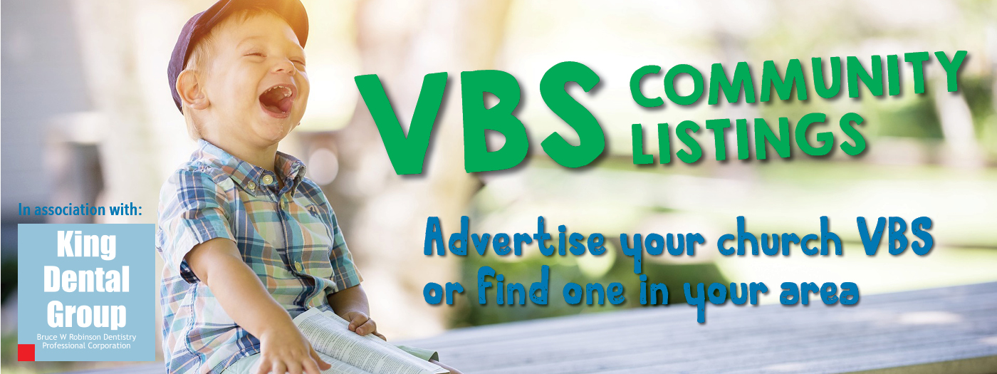 VBS slider with sponsor