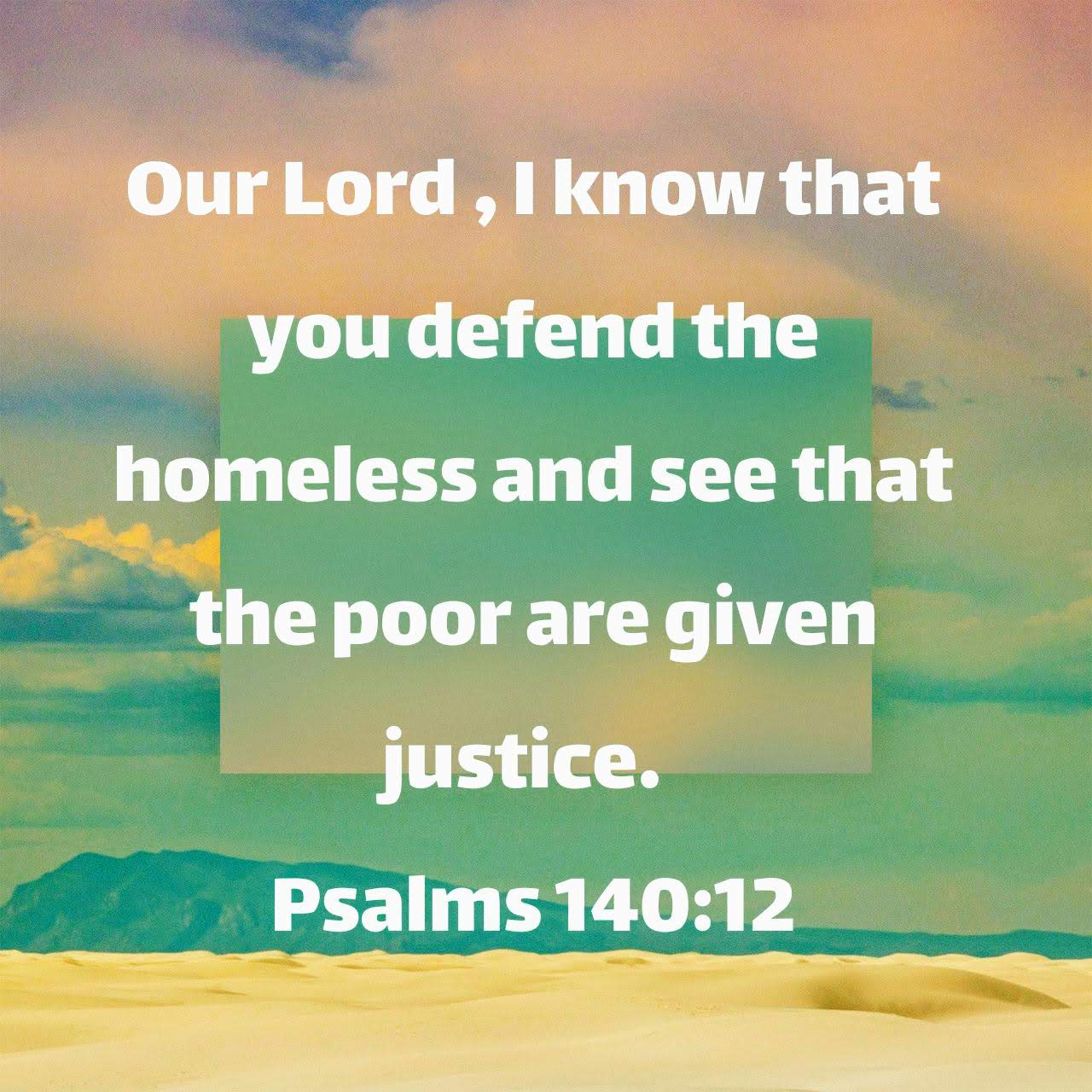 Psalm 140:12