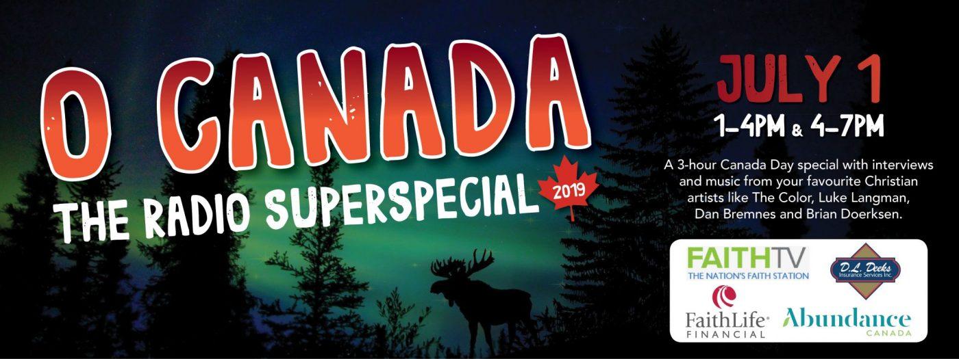 O Canada slider July 1