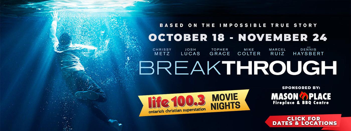 Breakthrough – Website Slider