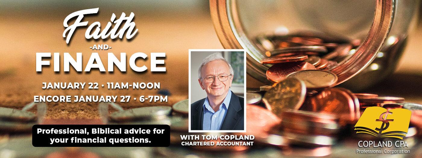 Faith and Finance slider Jan 22